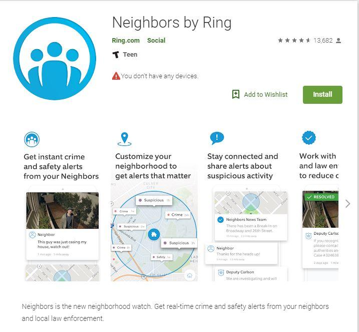 Neighbors App by Ring | City of Corinth, Texas